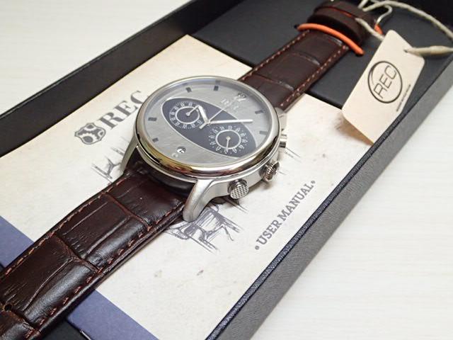イギリスの名車 Mini ミニ の車体文字盤 44mm The Mark I マーク1 メンズ 腕時計 REC WATCHES MK1-M1優美堂はREC腕時計の正規販売店です