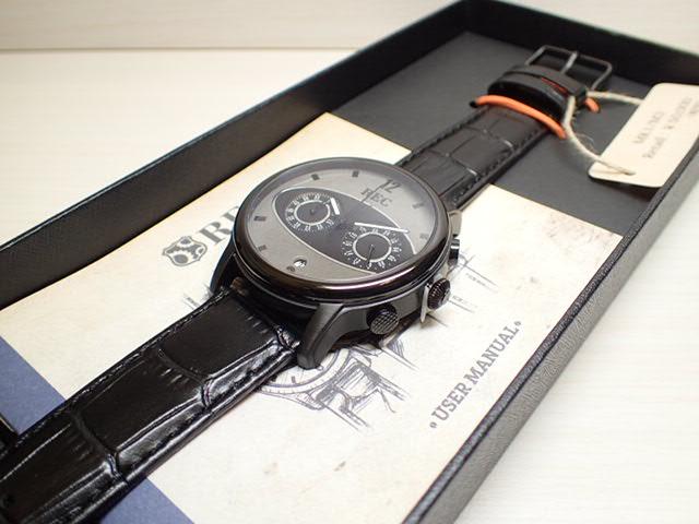 イギリスの名車 Mini ミニ の車体文字盤 44mm The Mark I マーク1 メンズ 腕時計 REC WATCHES MK1-M3優美堂はREC腕時計の正規販売店です
