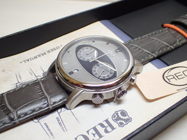 イギリスの名車 Mini ミニ の車体文字盤 44mm The Mark I マーク1 メンズ 腕時計 REC WATCHES MK1-M2優美堂はREC腕時計の正規販売店です
