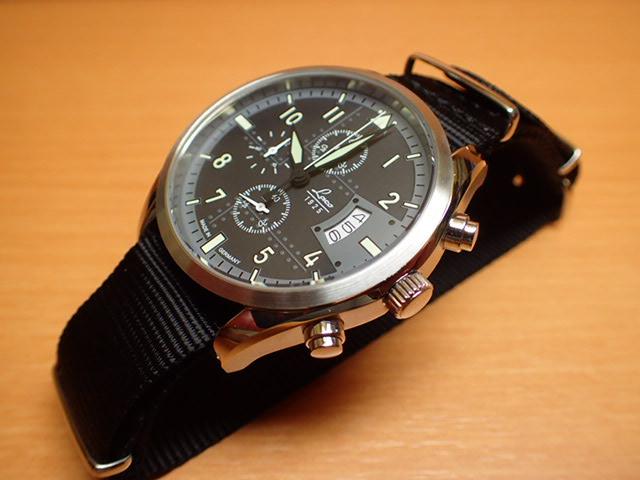 ラコ 腕時計 Laco 861917 デトロイト Detroit クロノグラフ クォーツ(電池式) 42mm優美堂のLaco ラコ腕時計はメーカー保証2年つきの正規販売店商品です。