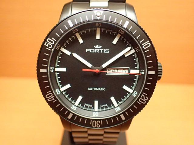 フォルティス 腕時計 FORTIS 時計 B-42 Monolith モノリス 42mm / Ref.6471831M 分割払いOKです