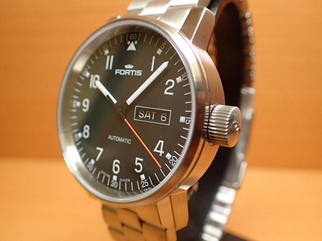 フォルティス 腕時計 FORTIS 時計 B-42 Spacematic Pilot スペースマティック パイロット 42mm / Ref.6231071M 分割払いOKです
