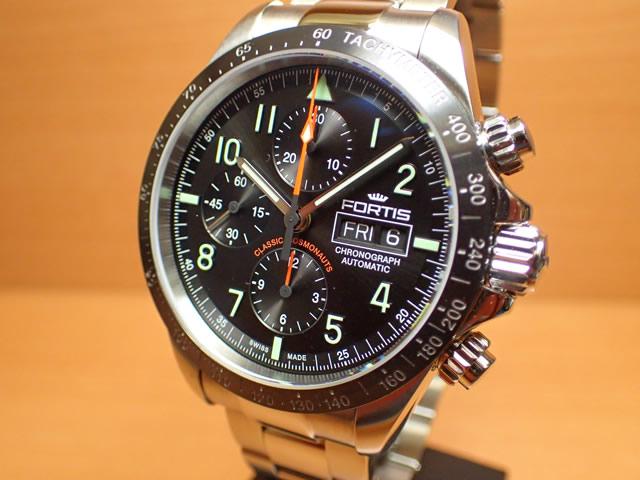 フォルティス 腕時計 FORTIS クラシック・コスモノート セラミック p.m. 42mm Ref.401.26.11M