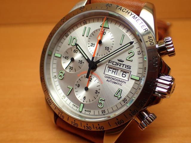 フォルティス 腕時計 FORTIS クラシック・コスモノート スチール a.m. 42mm Ref.401.21.12 優美堂分割払いOKです