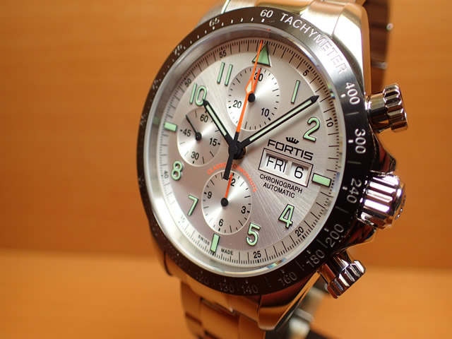 フォルティス 腕時計 FORTIS クラシック・コスモノート セラミック a.m. 42mm Ref.401.26.12M