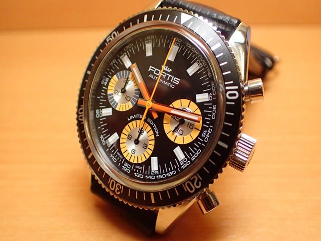 フォルティス 腕時計 FORTIS 時計 マリンマスター ヴィンテージ リミテッド エデション Ref.800.20.80OR 世界限定500本 優美堂分割払いOKです 最後の1本であります。