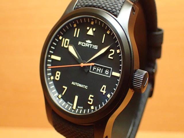 フォルティス 腕時計 FORTIS エアロマスター ステルス Ref.655.18.18