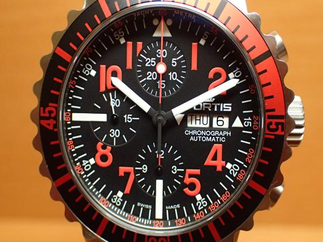 フォルティス 腕時計 FORTIS Marinemaster Chronograph マリンマスター クロノグラフ 42mm Ref.671.23.43M 分割払いOKです
