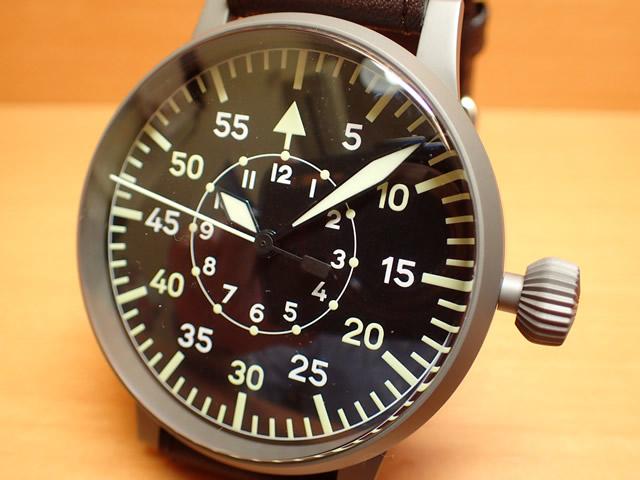 ラコ 腕時計 Laco パイロットウォッチ LACO 97系 手巻き式 レプリカB 55mm 861930優美堂のLaco ラコ腕時計はメーカー保証2年つきの正規販売店商品です。