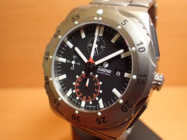 """チュチマ グラスヒュッテ TUTIMA GLASHUTTE 腕時計 M2 Pioneer 6451-03""""優美堂はチュチマ TUTIMAの正規販売店です"""