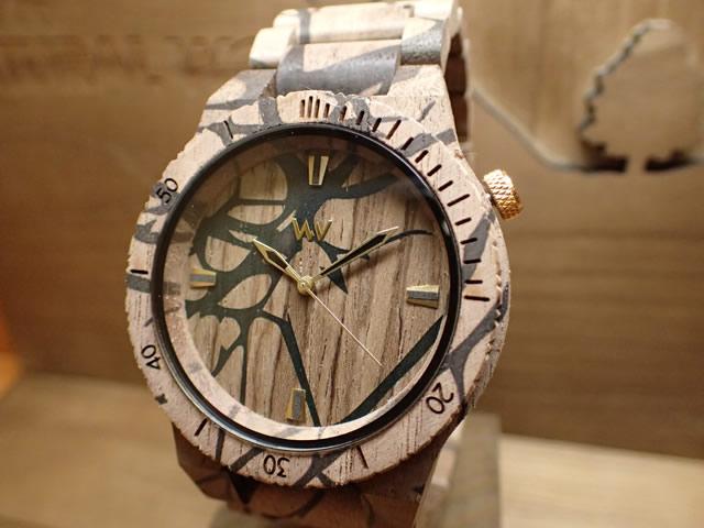 ウィーウッド WEWOOD 腕時計 ウッド/木製 ALPHA NATURE TREE NUT 9818103 メンズ 【正規輸入品】