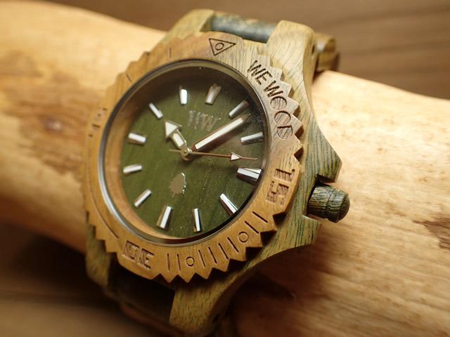 木の腕時計 ウィーウッド WEWOOD 腕時計 ウッド/木製 DATE ARMY 9818026 メンズ 【正規輸入品】