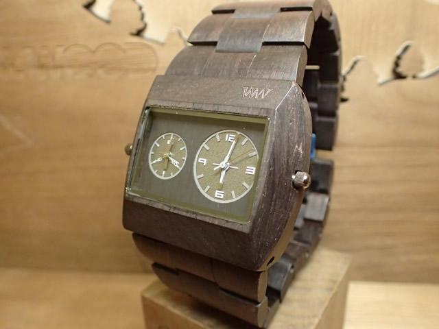 ウィーウッド WEWOOD 腕時計 ウッド/木製 JUPITER rs BLACK 9818093 メンズ ツインムーブメント【正規輸入品】