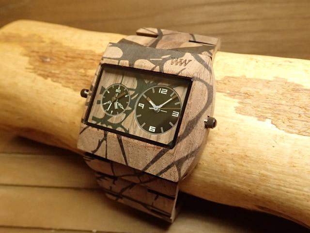ウィーウッド WEWOOD 腕時計 ウッド/木製 JUPITER TREE NUT 9818107 メンズ ツインムーブメント【正規輸入品】