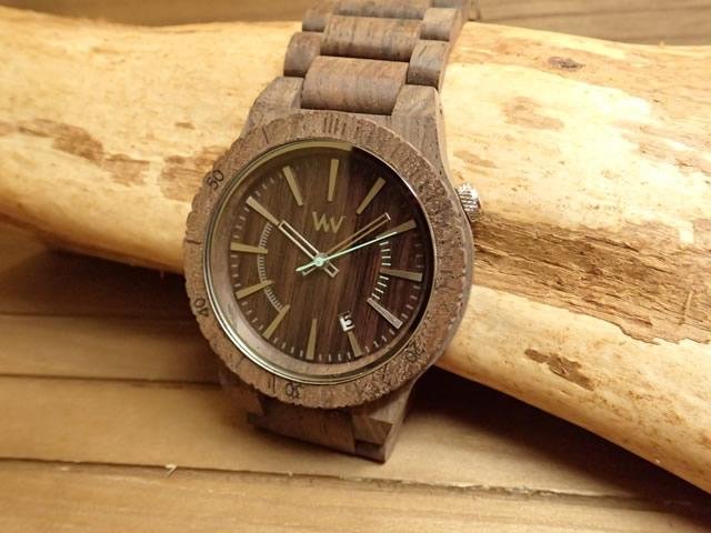 木の腕時計 ウィーウッド WEWOOD 腕時計 ウッド/木製 ASSUNT CHOCO ROUGH 9818086 メンズ 正規輸入品