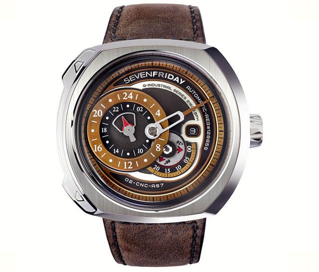 SEVENFRIDAY セブンフライデー 腕時計 正規輸入商品 Ref.Q2/01 Revolutionセブンフライデーはメーカー保証2年付の正規代理店商品になります