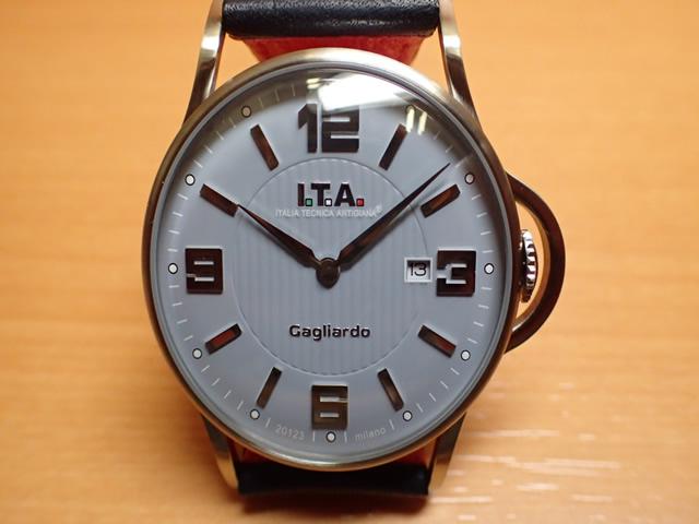 I.T.A アイティーエー 腕時計 Gagliardo ガリアルド クォーツ 正規商品 Ref.23.00.03シンプルさを追求し、デザインを一新したニューコレクション「ガリアルド」