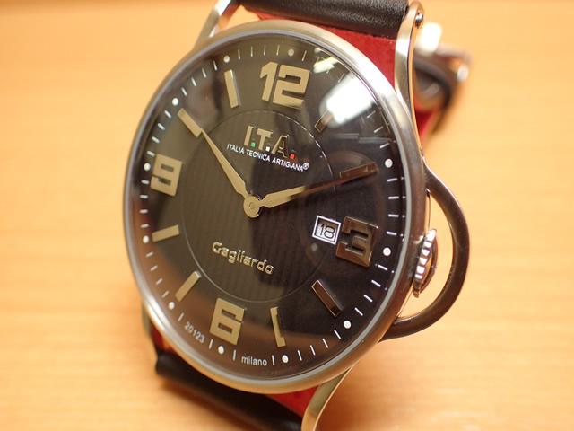 ITA 腕時計 アイティーエー Gagliardo ガリアルド クォーツ 正規商品 Ref.23.00.04シンプルさを追求し、デザインを一新したニューコレクション「ガリアルド」