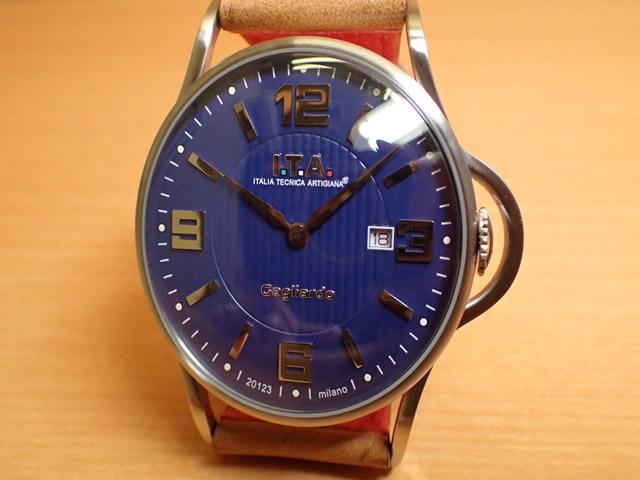 I.T.A アイティーエー 腕時計 Gagliardo ガリアルド クォーツ 正規商品 Ref.23.00.05シンプルさを追求し、デザインを一新したニューコレクション「ガリアルド」