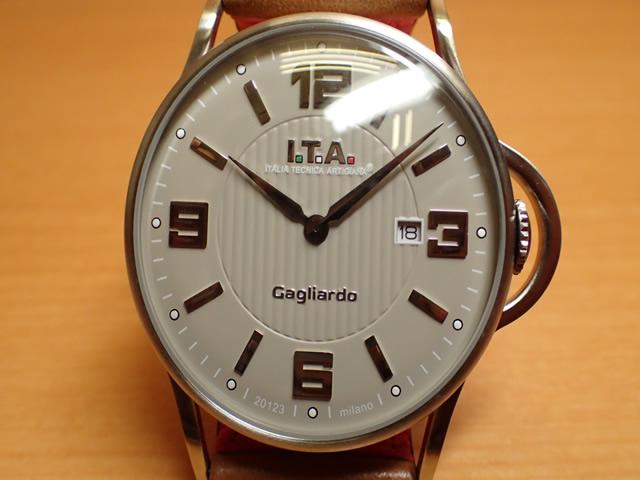 I.T.A アイティーエー 腕時計 Gagliardo ガリアルド クォーツ 正規商品 Ref.23.00.01シンプルさを追求し、デザインを一新したニューコレクション「ガリアルド」
