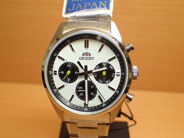 オリエント ORIENT 腕時計 Neo 70's PANDA パンダ ホワイト&ブラック WV0011UZ メンズ