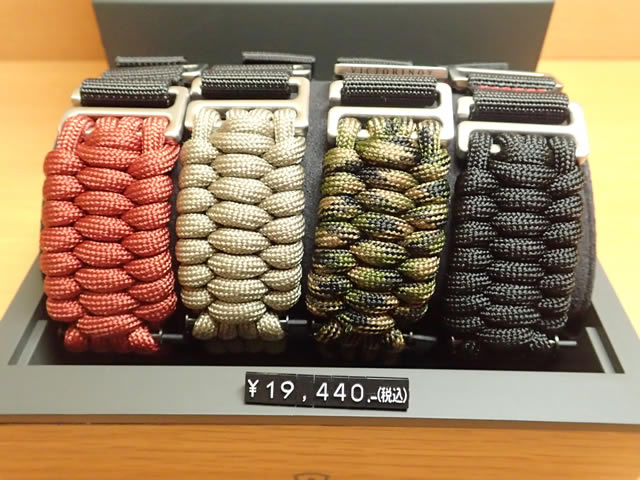 VICTORINOX ビクトリノックス 腕時計 I.N.O.X. イノックス 専用 ベルト バンド Paracord NAIMAKKA パラコード ナイマッカ ストラップ 1本 お好みの4色からお選びください!