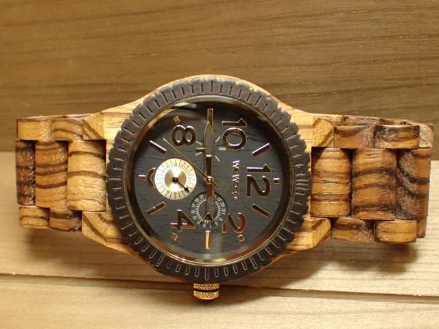 木の腕時計 ウィーウッド WEWOOD 腕時計 ウッド/木製 KARDO ZEBRANO 9818122 メンズ 【正規輸入品】