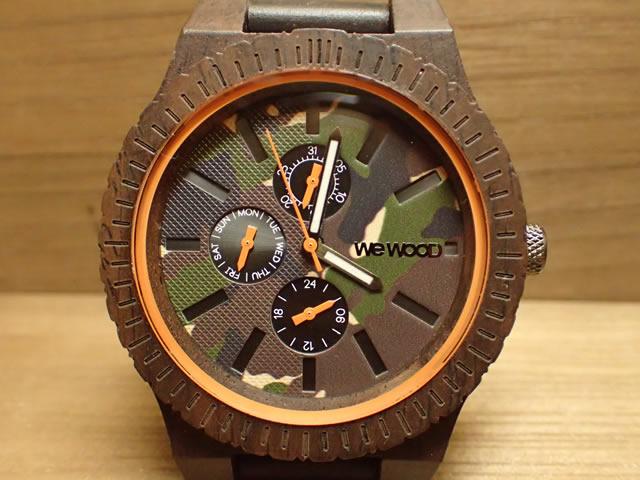 ウィーウッド WEWOOD 腕時計 ウッド/木製 KOS CHOCO CAMO 9818133 メンズ 正規輸入品