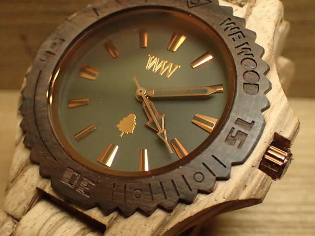 ウィーウッド WEWOOD 腕時計 ウッド/木製 DATE ZEBRANO ROUGH 9818119 メンズ 【正規輸入品】