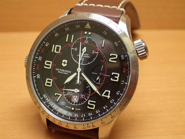 ビクトリノックス 腕時計 AirBoss Mechanical Chronograph エアボス メカニカル クロノグラフ 241710