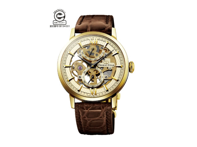 オリエントスター 腕時計 ORIENTSTAR オリエントスター スケルトン 手巻き式 WZ0031DXオリエント時計の技術を結集した手巻き式スケルトンモデル