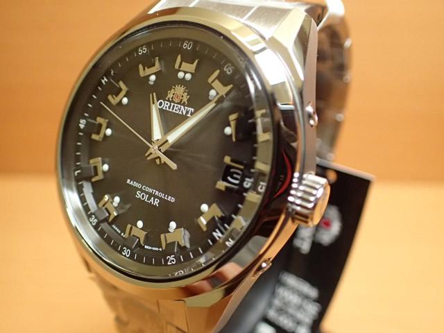 オリエント ORIENT 腕時計 Neo 70's Radio Controlled Solar ソーラー電波時計 グレーブラック WV0061SE メンズ