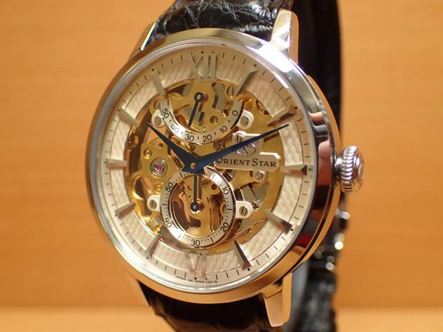 オリエントスター 腕時計 ORIENTSTAR オリエントスター スケルトン 手巻き式 WZ0041DXオリエント時計の技術を結集した手巻き式スケルトンモデル