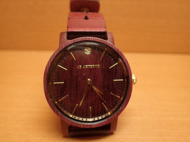 アバテルノ AB AETERNO 腕時計 ハーモニーコレクション ウッドウオッチ MELODY パープルハートウッド 35mm 【正規輸入品】 MADE IN ITALY
