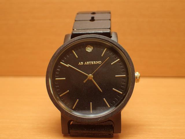 アバテルノ AB AETERNO 腕時計 ハーモニーコレクション ウッドウオッチ ECLIPSE エボニーウッド 35mm 【正規輸入品】 MADE IN ITALY