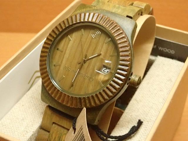 アバテルノ AB AETERNO 腕時計 SKY COLLECTION グリーンサンダルウッド RAY 9825027 メンズ 【正規輸入品】 MADE IN ITALY