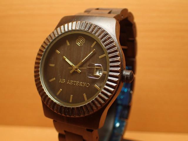 アバテルノ AB AETERNO 腕時計 SKY COLLECTION ブラックサンダルウッド STORM 9825025 メンズ 【正規輸入品】 MADE IN ITALY