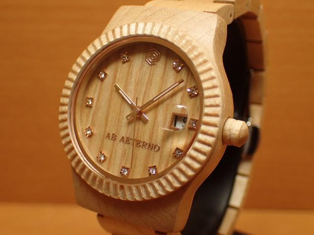 アバテルノ AB AETERNO 腕時計 SKY COLLECTION メープルウッド ALBA 9825024 レディース 【正規輸入品】 MADE IN ITALY