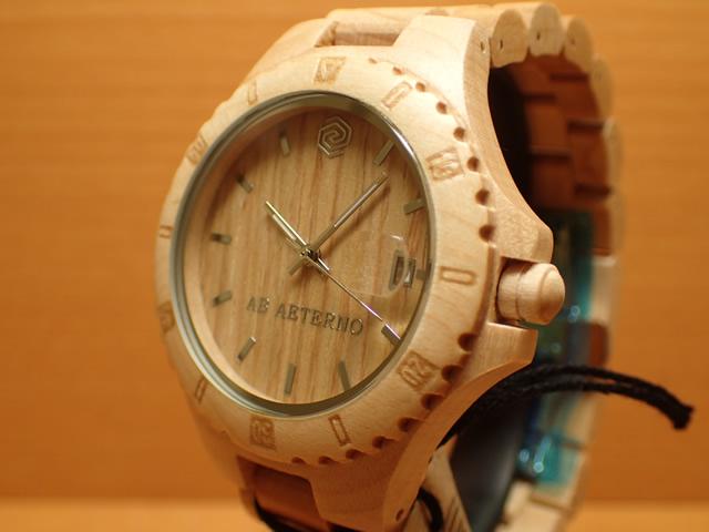 アバテルノ AB AETERNO 腕時計 NATURE COLLECTION メープルウッド SANDY 9825020 メンズ 【正規輸入品】 MADE IN ITALY