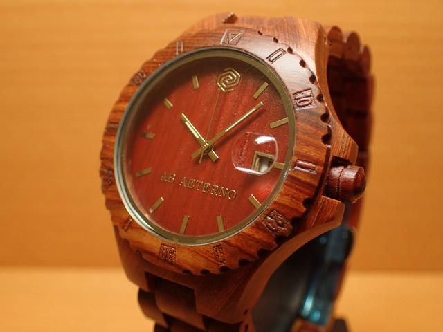 アバテルノ AB AETERNO 腕時計 NATURE COLLECTION レッドサンダルウッド ROCKY 9825019 メンズ 【正規輸入品】 MADE IN ITALY