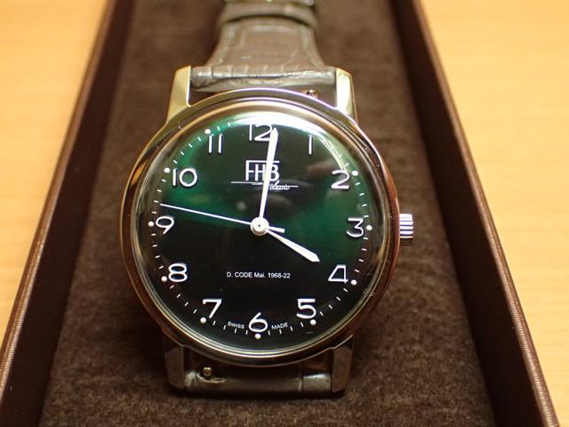 FHB エフエイチビー 腕時計 クラシックフレアーシリーズ Classic Flair Series F908SG-GY 【正規輸入品】「ヴィンテージベーシック」由緒ある腕時計の基本形。FHBはフェリックス・フーバーの名を冠にして始まった腕時計ブランド。