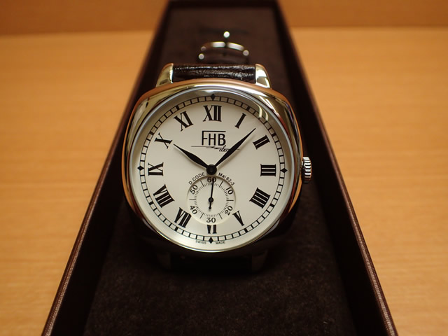 FHB エフエイチビー 腕時計 Liamシリーズ LIAM Series F901-SWR 【正規輸入品】「ヴィンテージベーシック」由緒ある腕時計の基本形。FHBはフェリックス・フーバーの名を冠にして始まった腕時計ブランド。