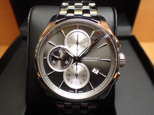 ハミルトン ジャズマスター 時計 腕時計 オートクロノ メタルブレスレット HAMILTON H32596181 送料無料