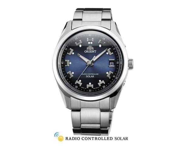 オリエント ORIENT 腕時計 Neo 70's Radio Controlled Solar ソーラー電波時計 ブルー WV0071SE メンズ