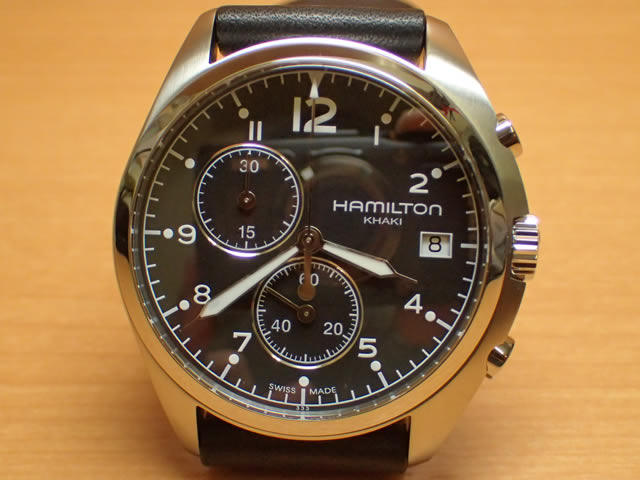 ハミルトン HAMILTON 腕時計 Khaki Pilot Pioneer Chrono カーキ パイロット パイオニア クロノ H76512733 メンズ 【送料無料】【正規輸入品】