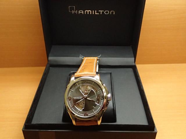ハミルトン ジャズマスター 時計 オープンハート 腕時計 HAMILTON Jazzmaster Open Heart 機械式自動巻き H32565585 メンズ 送料無料 正規輸入品