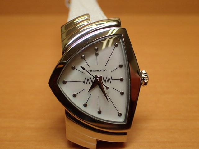 ハミルトン ベンチュラ 【 限定 ★ プレゼントつき 】 レディース 腕時計 HAMILTON H24211852 文字盤カラー ホワイト シェル 優美堂 分割いもOKできますよ。 【送料無料】