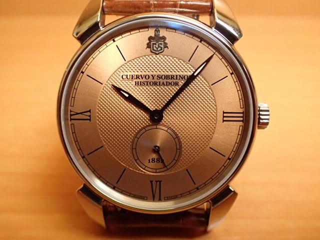 クエルボイソブリノス 腕時計 ヒストリアドール クラシコ 正規商品 Ref.3130.1RB クエルボ・イ・ソブリノス 無金利分割も可能です。
