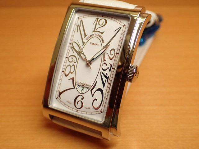 クエルボイソブリノス 腕時計 プロミネンテ ソロテンポ デイト 正規商品 Ref.1012-1WH 【クエルボ・イ・ソブリノス】 無金利分割も可能です。