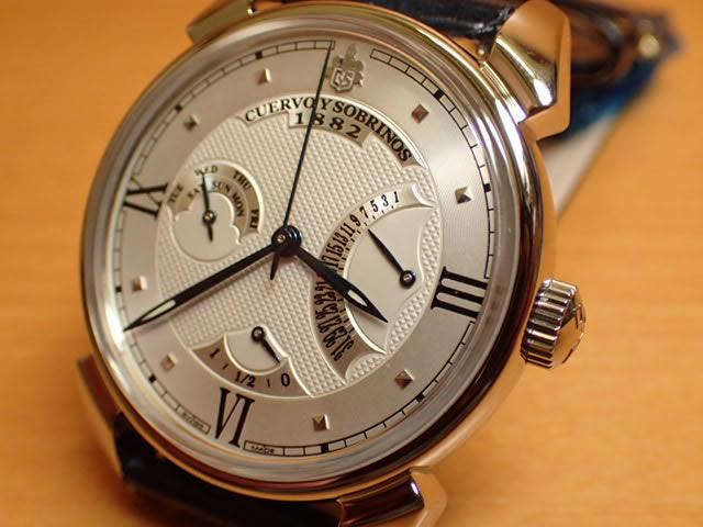 クエルボイソブリノス 腕時計 トルピード ヒストリアドール レトログラード 正規商品 Ref.3194-1A クエルボ・イ・ソブリノス 無金利分割も可能です。
